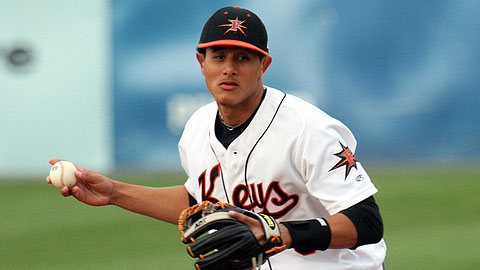 Manny Machado played at two levels in his first full Minor League season.